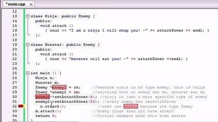 56. C++ Programming Tutorials - Virtual Functions