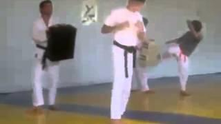 Taekwondo Vs Thai Kickboxing Training  YouTube
