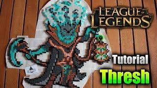 LEAGUE OF LEGENDS TUTORIAL ★ Como hacer a THRESH en Hama/Perler Beads