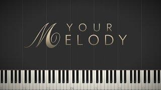 Your Melody - Jacob's Piano \ Synthesia Piano Tutorial