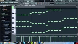 FL Studio 10 Tutorial: How To Make A Swedish House Melody