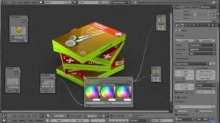 Blender 3D Tutoriel Français - Cycles - DVD Stack - By KOPILOT