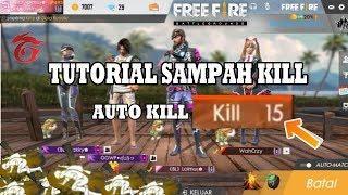 AUTO KILL BANYAK MAH!!tutorial sampah dengan benar - Garena Free Fire Indonesia