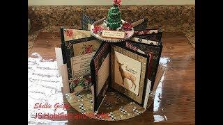 HOLIDAY RECIPE CAROUSEL TUTORIAL BY SHELLIE GEIGLE JS HOBBIES AND CRAFTS