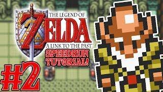 Zelda A Link to the Past Speedrun Tutorial Part 2 - TFS Plays