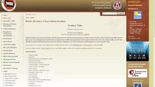 Safety Website Tutorial