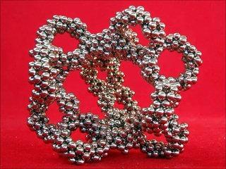 Spiral 10 circles cycles lattice, magnets tutorial