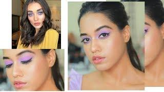 Lilac Eyes Inspired By Amy Jackson