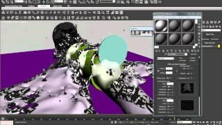 Animation Arabic Tutorial -  Real Flow ( Real Flow And 3Ds Max ) Lesson #26
