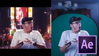 After Effects Tutorial - INSTANT TELEPORT to NEW YORK !! (Chroma Key Breakdown)