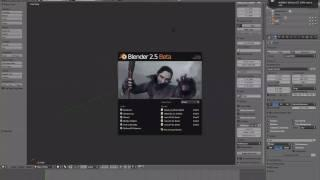 Blender 3D  Tutoriel Francais 2.6, 2.7 Les Bases De L'interface - FR -1