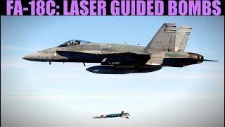 FA-18C Hornet: GBU Laser Guided Bombs Tutorial | DCS WORLD