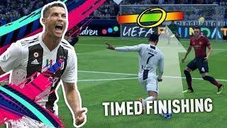 FIFA19 TIMED FINISHING TUTORIAL!