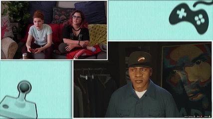 Let's Play GTA 5 Pt 3: Funny Girls Fail at Dressing a Man // Rad Gaming | Snarled