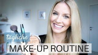 Einfache, tägliche Make Up Routine | Schmink Tutorial Tages-Make Up | MamaBabyLiebe
