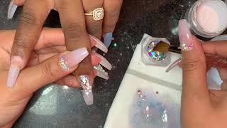 Acrylic Nails Tutorial | All Acrylic No Polish | Acrylic Fill |
