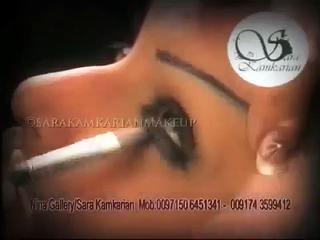 Bridal Makeup Tutorial Dubai, مكياج العروس في دبي,أكاديمية لفن المكياج في دبي,مكياج عرايس الامارات