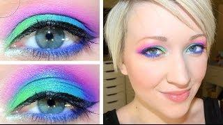 UD Electric Palette Tutorial #1: Peacock Eyes