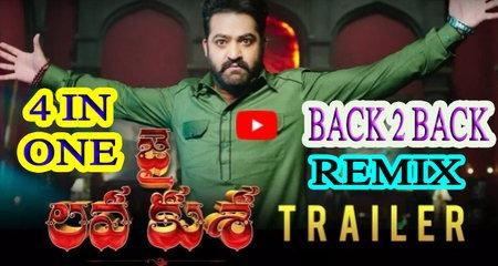REMIX AND FUNNY TRAILER OF JAI LAVA KUSA | NTR | KALYAN RAM | BAABI