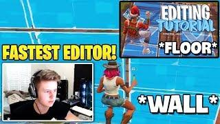 Symfuhny's Editing Skills Tutorial | The Fastest Editor in Fortnite