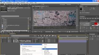 After Effects - Graffiti Intro Tutorial (Hebrew)