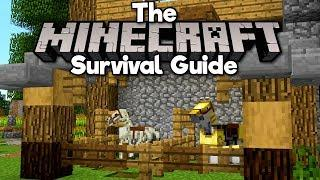 Skeleton Horses / How to Tame a Horse! ▫ The Minecraft Survival Guide (Tutorial Lets Play) [Part 28]