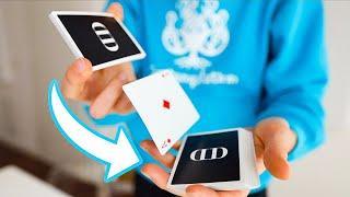 Far saltare una carta da una mano all'altra / ATM / Cardistry Tutorial