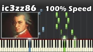 Mozart - Turkish March (Piano) [100% Speed]
