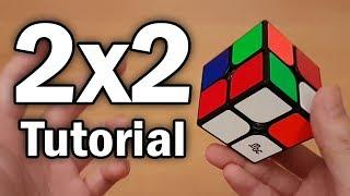 Learn How to Solve a 2x2 Rubik's Cube (Beginner Tutorial)