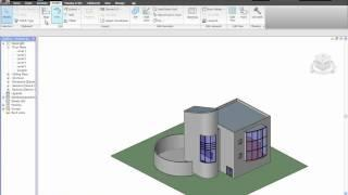 Autodesk Revit Architecture 2010  Clip En Français:Interface Reviti Architecture 2010