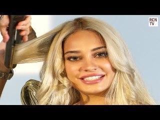 ShannMu & Lisa Haydon Bollywood Hair Curl Tutorial
