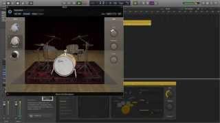 Logic Pro X Drummer Novità Tutorial Italiano 01