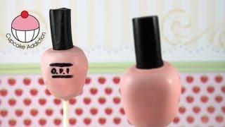 Cakepops! Make A Nail Polish Bottle Cake Pop - A Cupcake Addiction How To Tutorial