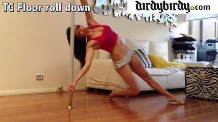 Vid #28: TG Floor Roll Down Tutorial. All level pole move