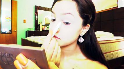 ♡ Prom Makeup Tutorial ♡ | Smokey Eye With Nude Lip |