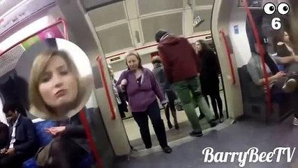 Funny Videos A metro man attracts attention