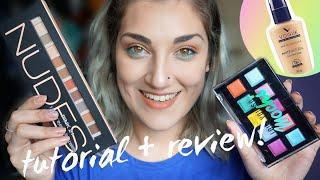 Review y tutorial con paletas de ONCE! NYX y Pink21