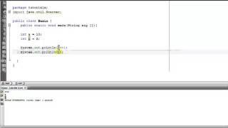 Java Tutorial  5 - Increment Operator