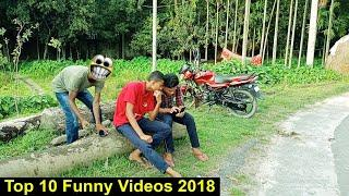 Top 10 Funny Videos_Most Funny Videos 2018_Try Not To Laugh Compilation_Pagla BaBa