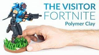 The Visitor (Fortnite Battle Royale) – Polymer Clay Tutorial