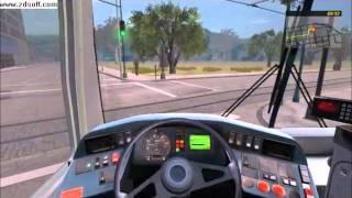 Bus&Cable-car Simulator: TUTORIAL FOR BEGINNERS (English) (HD)