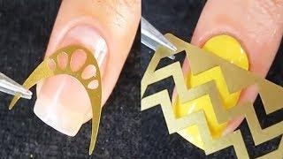 How to do Nails Art Designs Tutorial at Home | Top New Nail Polish Video Compilation 2018 #21
