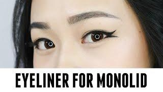 Beginner Eyeliner Tutorial for Monolid | Ft Maybelline Eyeliners