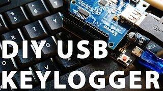 DIY Hardware KeyLogger - Arduino Tutorial