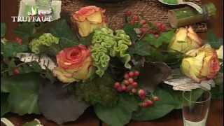 Art Floral : Réalisation D'un Centre De Table Tout En Longueur - Jardineries Truffaut TV