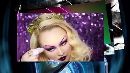 Edgy Flapper Girl Makeup Tutorial RuPauls Drag Race Series
