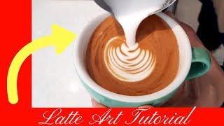 Latte Art Coffee Art Tutorial  Barista competition   Coffee Artist 3