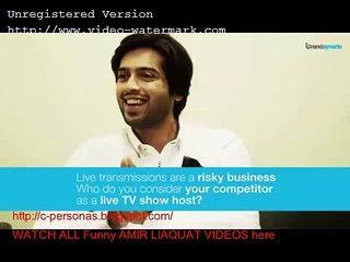 Funny Shocking Videos - Amir liaquat Mathira