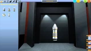 Tutorial / Let's Explain: Kerbal Space Program - Antrieb, Stages, SAS, Steuerung [Deutsch / Full HD]
