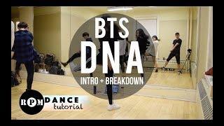 "BTS ""DNA"" Dance Tutorial (Intro, Breakdown)"